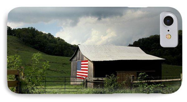 Barn In The Usa IPhone Case by Karen Wiles