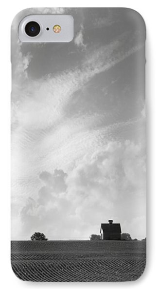 Barn On Top Of The Hill 2 IPhone Case by Mike McGlothlen