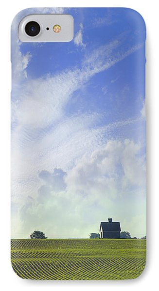 Barn On Top Of The Hill IPhone Case by Mike McGlothlen