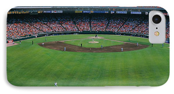 Baseball Stadium, San Francisco IPhone Case by Panoramic Images