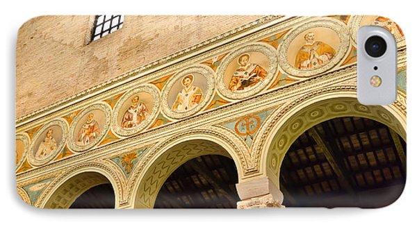 Basilica Di Sant' Apollinare Nuovo - Ravenna Italy Phone Case by Jon Berghoff