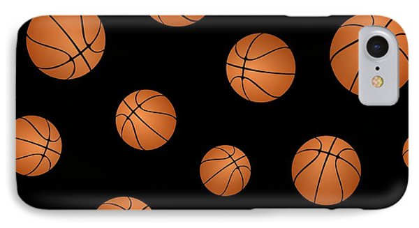 Basketball Pattern Phone Case by Li Or