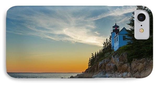 Bass Harbor Lighthouse IPhone Case by Diane Diederich