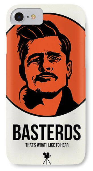 Basterds Poster 1 IPhone Case by Naxart Studio