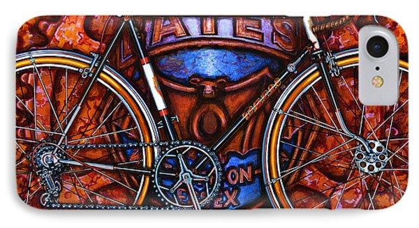 Bates Bicycle IPhone Case by Mark Howard Jones