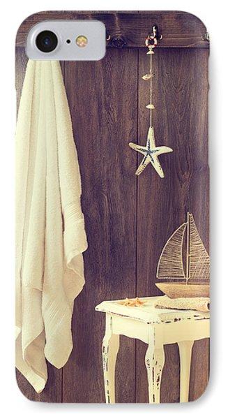 Bathroom Interior IPhone Case by Amanda Elwell