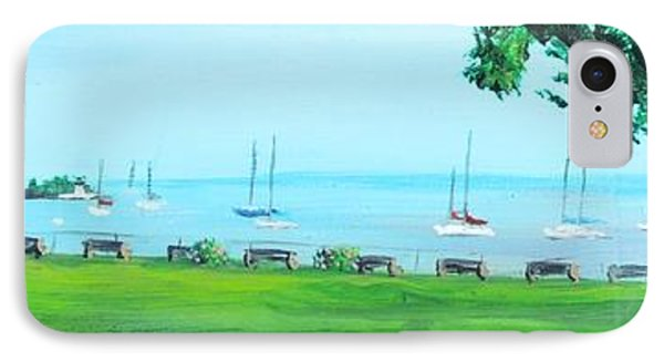 Battery Park Newport Ri IPhone Case by Patty Kay Hall