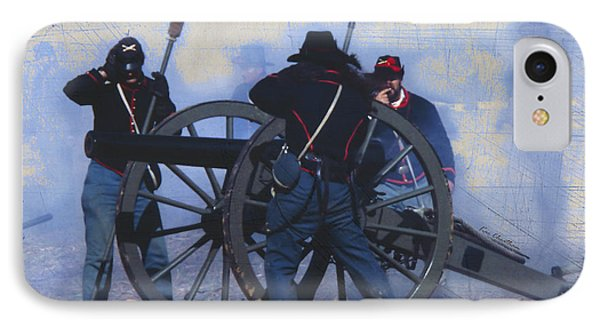 Battle Of Franklin - 1 IPhone Case by Kae Cheatham