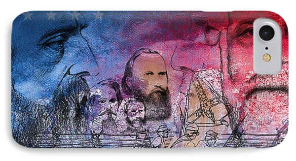Battle Of Gettysburg Tribute Day One IPhone Case by Joe Winkler