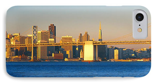 Bay Bridge & San Francisco From Port IPhone Case by Panoramic Images