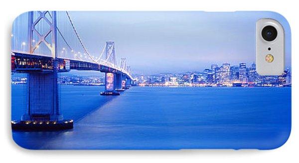 Bay Bridge San Francisco Ca IPhone Case by Panoramic Images