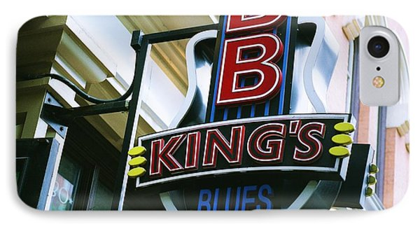 Bb King's Blues Club IPhone Case by Linda Unger
