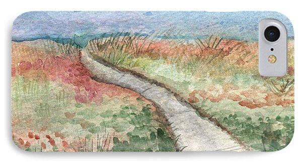 Beach Path IPhone Case by Linda Woods