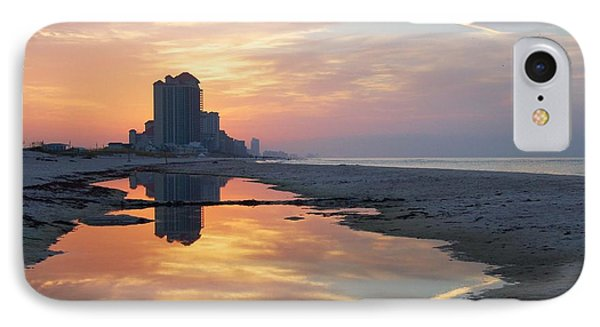 Beach Reflections Phone Case by Michael Thomas