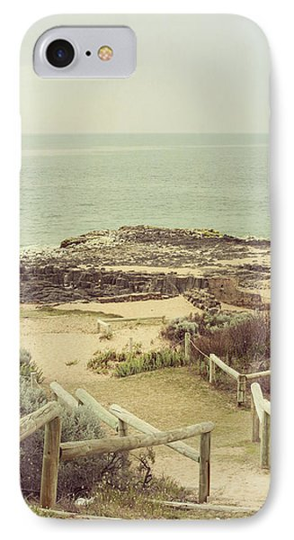 Beach Steps Phone Case by Elaine Teague