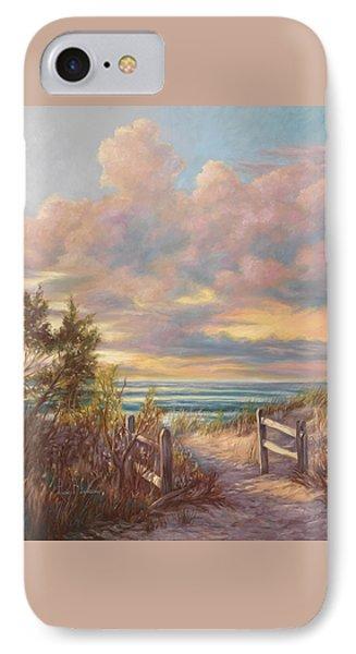 Beach Walk IPhone Case by Lucie Bilodeau