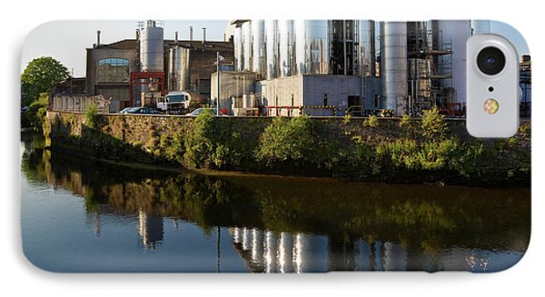 Beamish & Crawford Brewery, River Lee IPhone Case by Panoramic Images