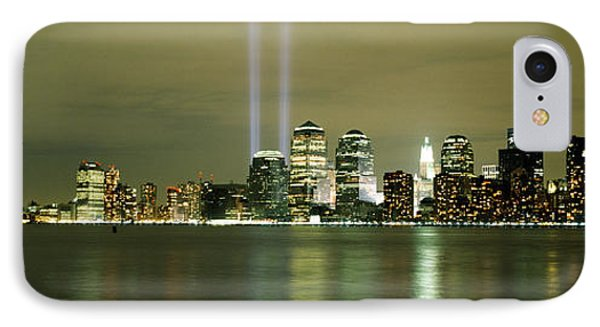 Beams Of Light, New York, New York IPhone Case by Panoramic Images