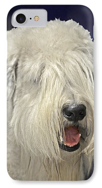 Bearded Collie - The 'bouncing Beardie' Phone Case by Christine Till