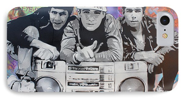 Beastie Boys IPhone Case by Josh Cardinali