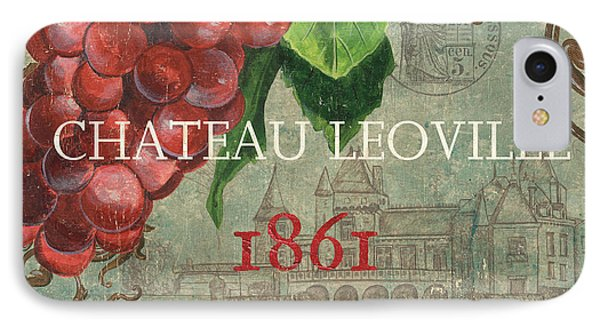 Beaujolais Nouveau 1 IPhone 7 Case by Debbie DeWitt