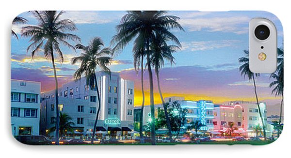 Beautiful South Beach IPhone Case by Jon Neidert