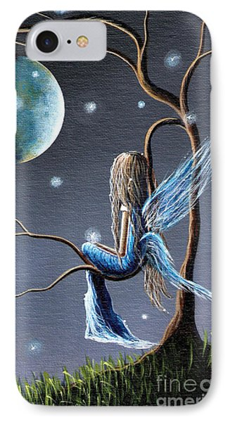 Fairy Art Print - Original Artwork IPhone 7 Case by Shawna Erback
