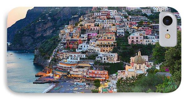 Beauty Of The Amalfi Coast  IPhone Case by Leslie Leda