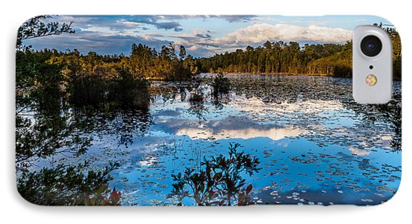 Beaver Pond - Pine Lands Nj IPhone Case by Louis Dallara
