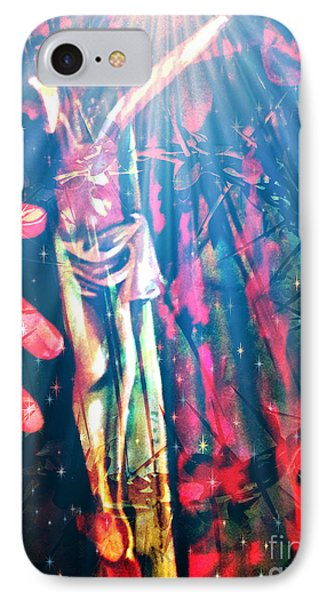 Because He Lives IPhone Case by Fania Simon