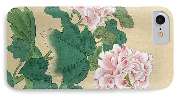 Bee And Peony IPhone Case by Ichimiosai