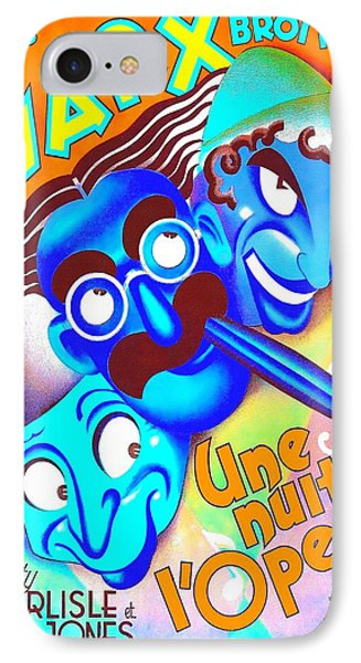 Belgian Poster Of A Night At The Opera IPhone Case by Art Cinema Gallery