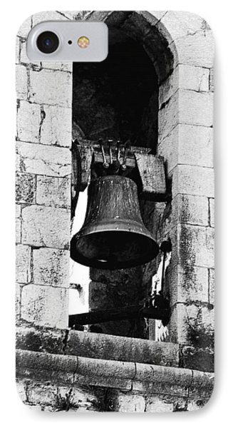 Bell Tower Valbonne Abbey Phone Case by Christine Till