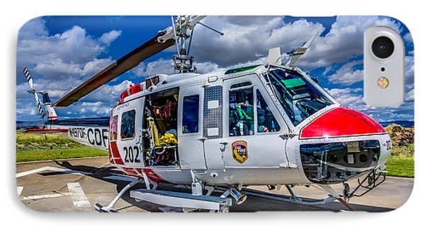 Bell Uh-1super Huey Close-up Phone Case by Scott McGuire