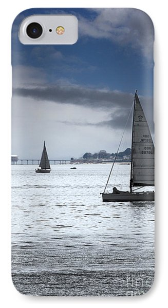 Bembridge Pier From Gosport Phone Case by Terri Waters
