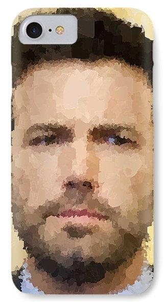 Ben Affleck Portrait IPhone 7 Case by Samuel Majcen