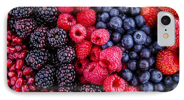 Berry Delicious IPhone Case by Teri Virbickis