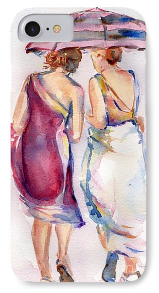 Best Friends IPhone Case by Maria's Watercolor