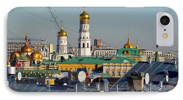 Beyond The Rooftops 2 IPhone 7 Case by Anna Yurasovsky