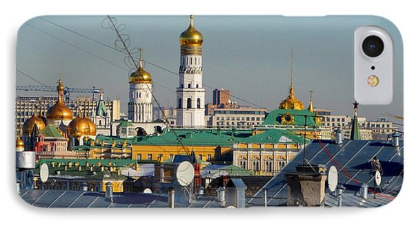 Beyond The Rooftops 2 IPhone Case by Anna Yurasovsky