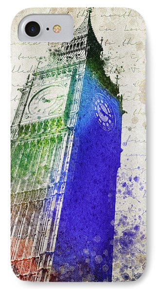 Big Ben IPhone Case by Aged Pixel