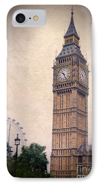 Big Ben In London IPhone Case by Jill Battaglia