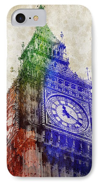 Big Ben London IPhone Case by Aged Pixel
