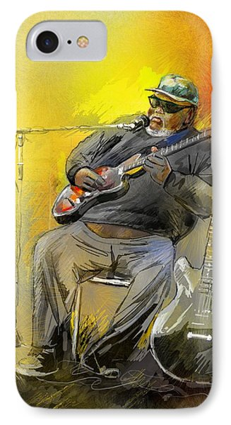 Big Jerry In Memphis Phone Case by Miki De Goodaboom