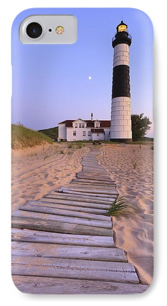 Big Sable Point Lighthouse IPhone 7 Case by Adam Romanowicz