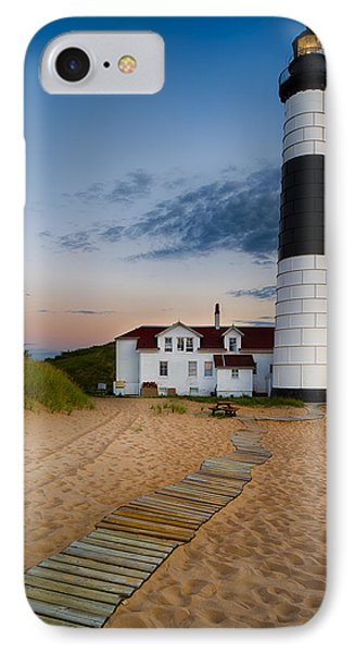 Big Sable Point Lighthouse IPhone Case by Sebastian Musial