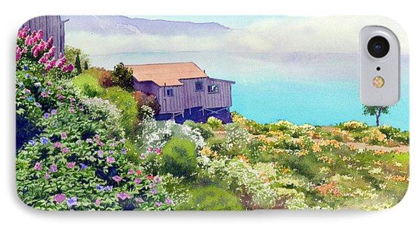 Big Sur Cottage Phone Case by Mary Helmreich