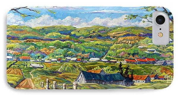 Big Valley By Prankearts Phone Case by Richard T Pranke