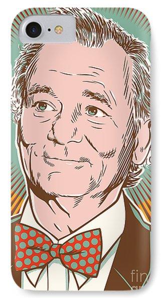 Bill Murray Pop Art IPhone 7 Case by Jim Zahniser