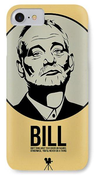 Bill Poster 1 IPhone Case by Naxart Studio